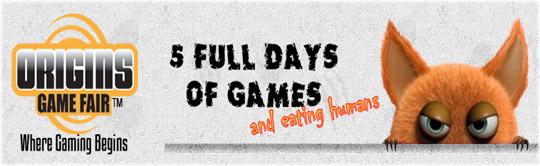 Origins Game Fair 2016 @ Greater Columbus Convention Center