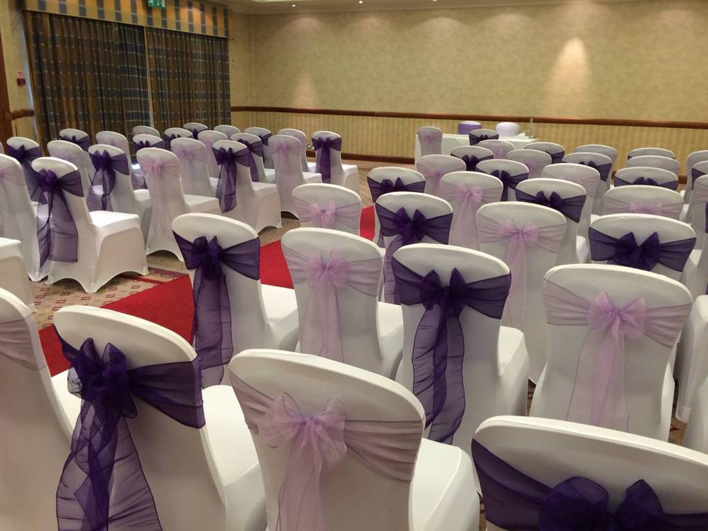 chair covers for weddings basingstoke rocking with cushions philippines events u venue decor specialists apollo hotel wedding