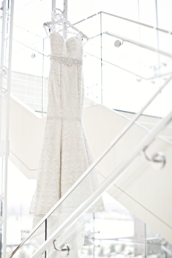 sparkle wedding gown sequin lace four seasons hotel st louis