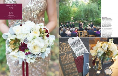 The Knot Magazine | Industrial Chic Wedding | Events Luxe Weddings