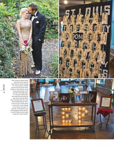 Industrial Chic Wedding | Events Luxe Weddings