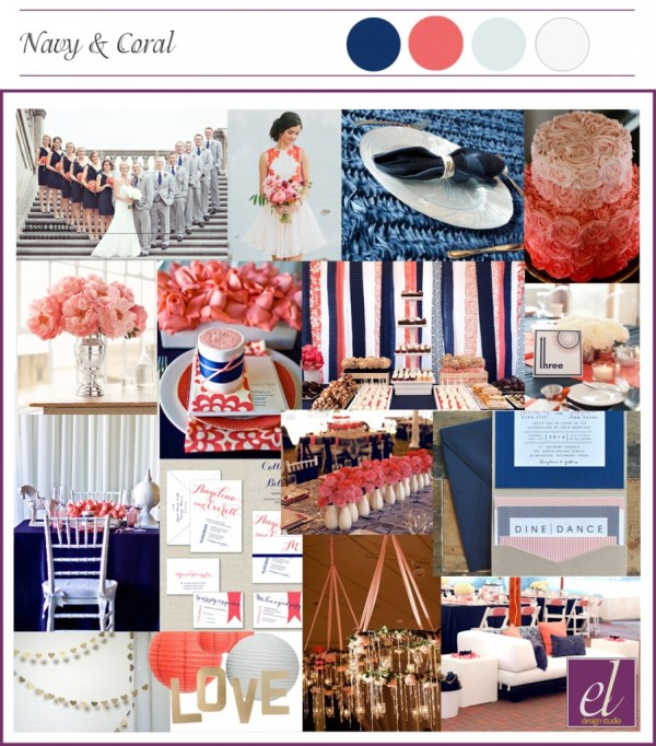Mood Board_Navy-Coral_Modern