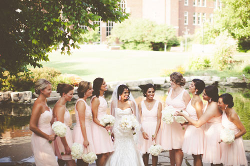 Bridal party St. Louis | Events Luxe Weddings