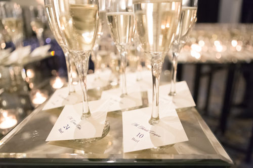 Champagne Toast at the Ritz Carlton | Events Luxe Weddings