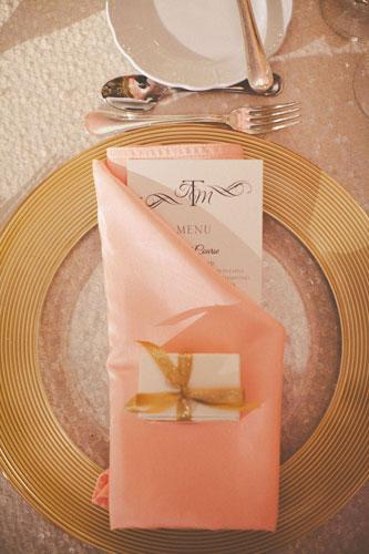 Wedding menu | Events Luxe Weddings