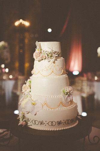 Wedding Cake by the Coronado | Events Luxe Weddings