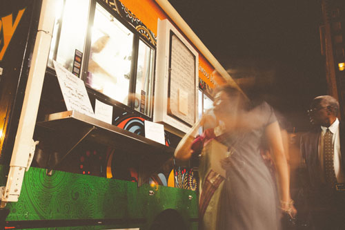 Food Trucks at your wedding | Events Luxe Weddings