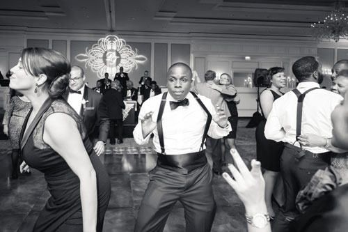 Wedding party at the Ritz Carlton St. Louis | Events Luxe Weddings