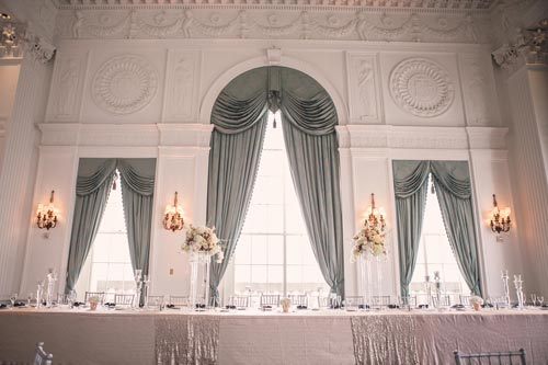 Wedding Reception at Marriott St Louis Grand Crystal Ballroom | St. Louis Weddings by Events Luxe