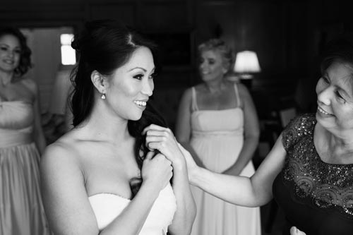 Bridesmaids getting ready in St. Louis, a wedding by Events Luxe