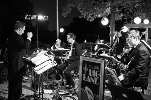 STL Big Band at Old Warson Country Club Weddings | St. Louis Weddings by Events Luxe