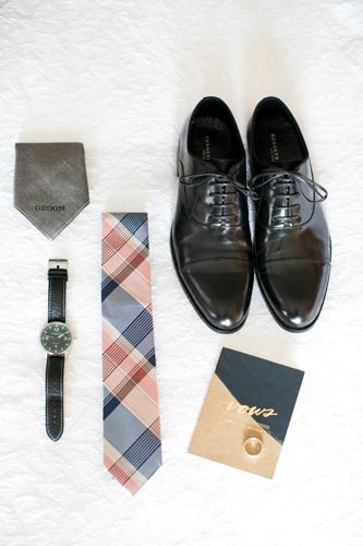 Grooms Accessories Photo   Weddings by Events Luxe