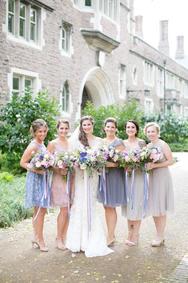 Bridal Party at Wash U | Events Luxe Weddings