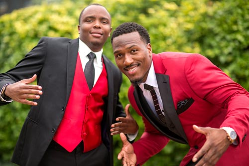 Groom & Groomsman Park Pictures | Events Luxe Wedding