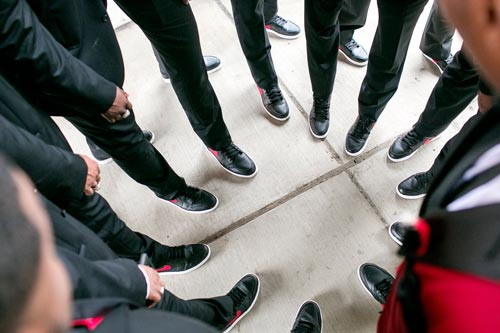 Groomsmen feet | Events Luxe Weddings