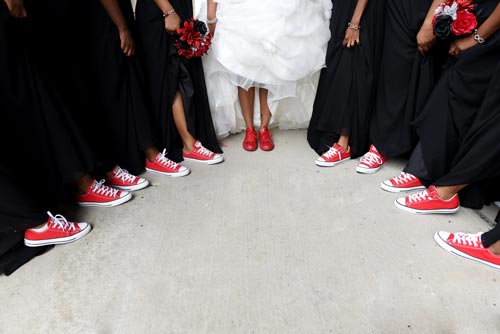 Bridal Party feet | Events Luxe Weddings