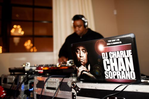 DJ Charlie Chan Soprano at Bissinger's Caramel Room | Events Luxe Wedding