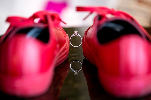 Red Shoe Wedding | Events Luxe Wedding