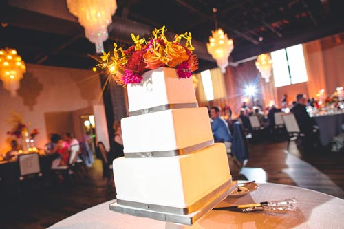 Wedding Cake at the Caramel Room | St. Louis Weddings by Events Luxe