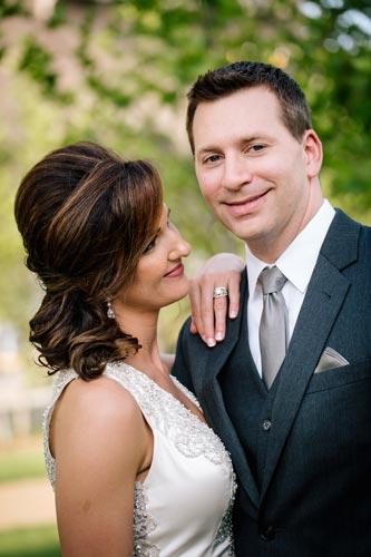 Bride & Groom at Hyatt Regency St. Louis | Events Luxe Weddings
