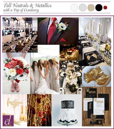 Sultry Night Wedding Board | Events Luxe Weddings