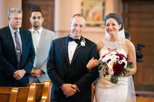 Bride at Old Cathedral St. Louis | Events Luxe Weddings