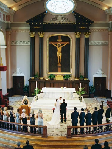 Wedding at Old Cathedral St Louis | Events Luxe Weddings