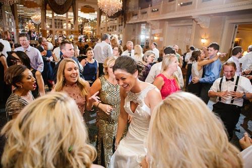 Bride dancing at Missouri Athletic Club Wedding | Events Luxe Weddings