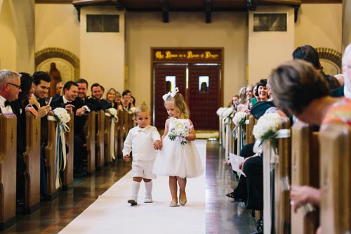 St Michael the Archangel Catholic Church Wedding | Events Luxe Weddings