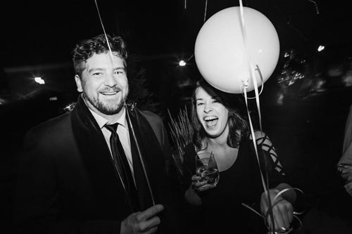 Wedding guests at Joule | Events Luxe Weddings