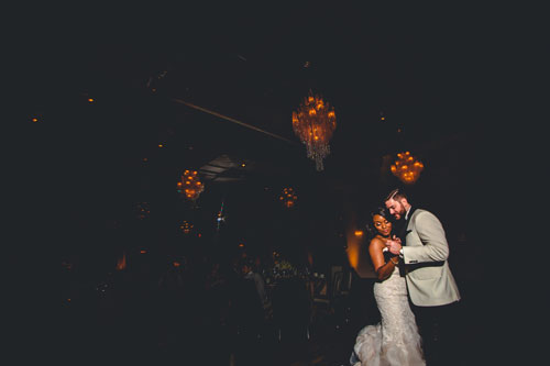 First Dance at Caramel Room | events Luxe Weddings