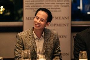 ISES Hong Kong Leadership dinner Vincent Ng TEDx Wanchai