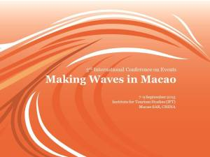 ICE2015 making waves in macau