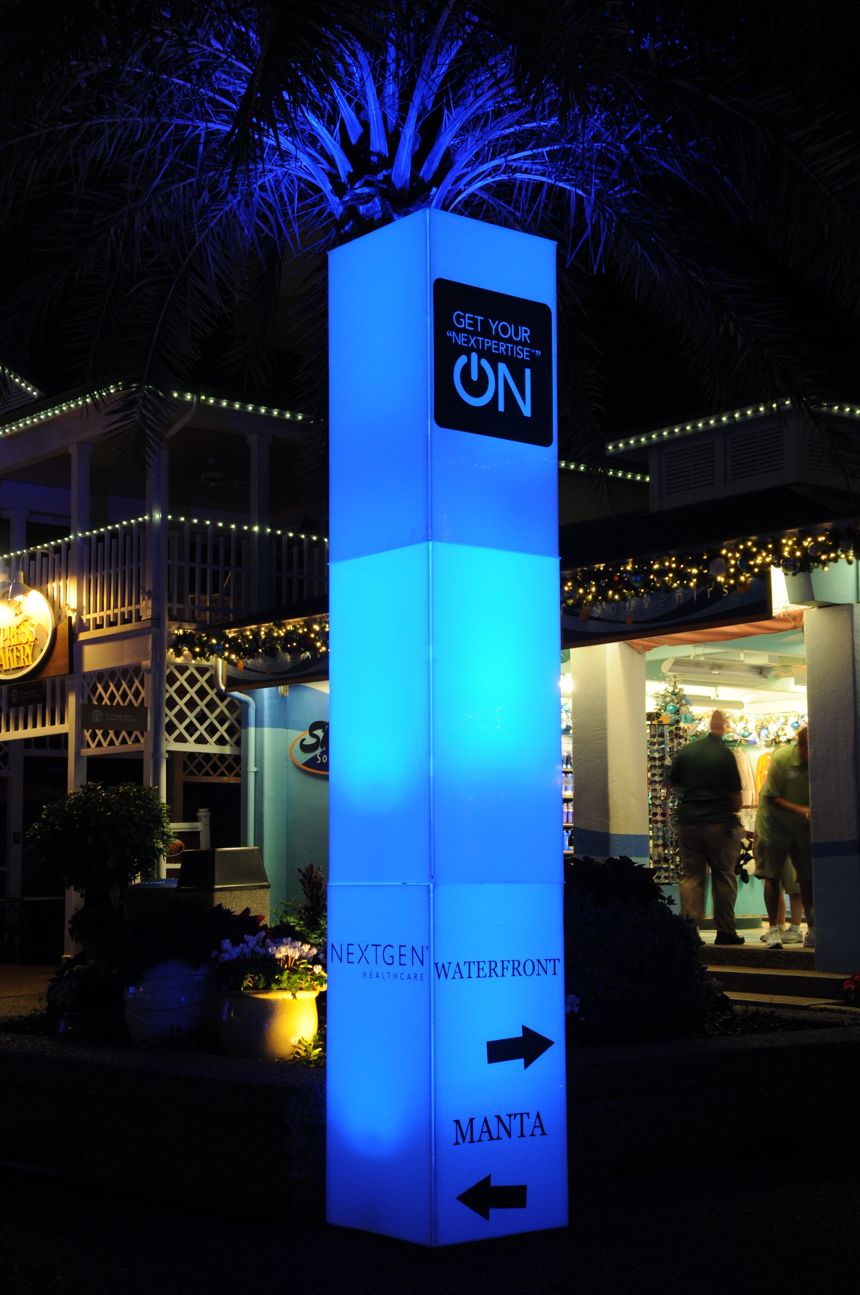 Glow Column Event Lighting Orlando