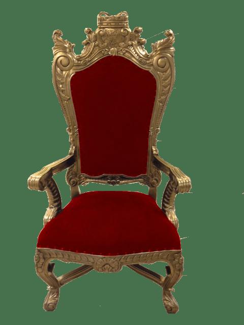 Golden Throne Rental Orlando  Orlando Event Decor Rentals