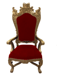 Golden Throne Rental Orlando | Orlando Event Decor Rentals