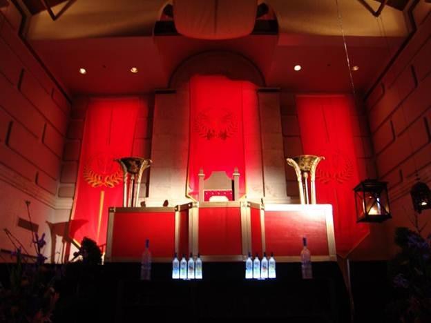 Roman Emperor Throne Rental Orlando Event Decor Rentals