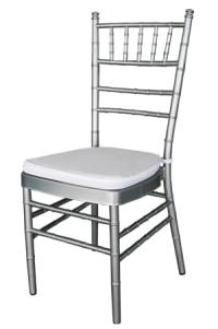 Tiffany Chair  Silver