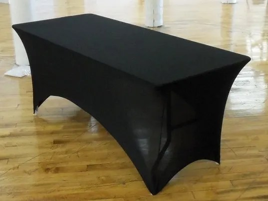 stacking resin chairs small desk and chair spandex fitted stretch table cover for 6'x30'' banquet | eventstable.com