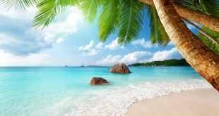 beautiful beach scenery hd picture