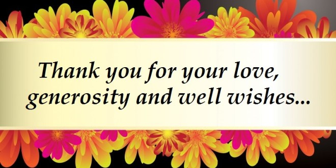 Thank You Quotes Amp Messages 2017 Images Amp Pictures Free