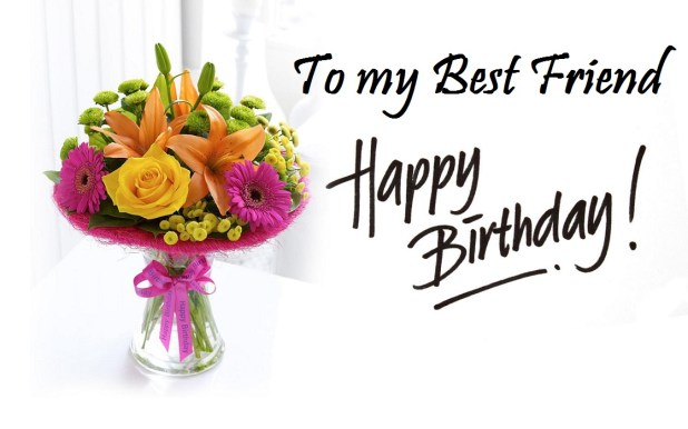 Happy Birthday Best Friend Wishes Images