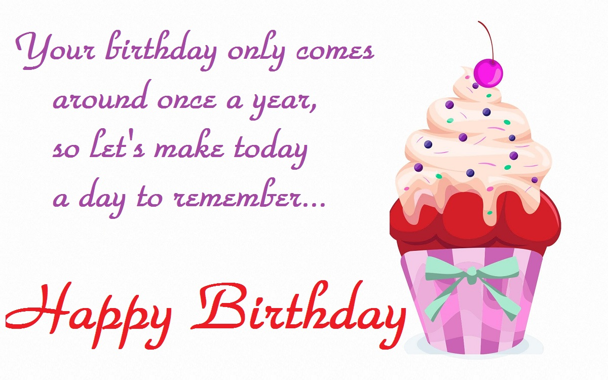 Happy Birthday Messages Images & Pictures