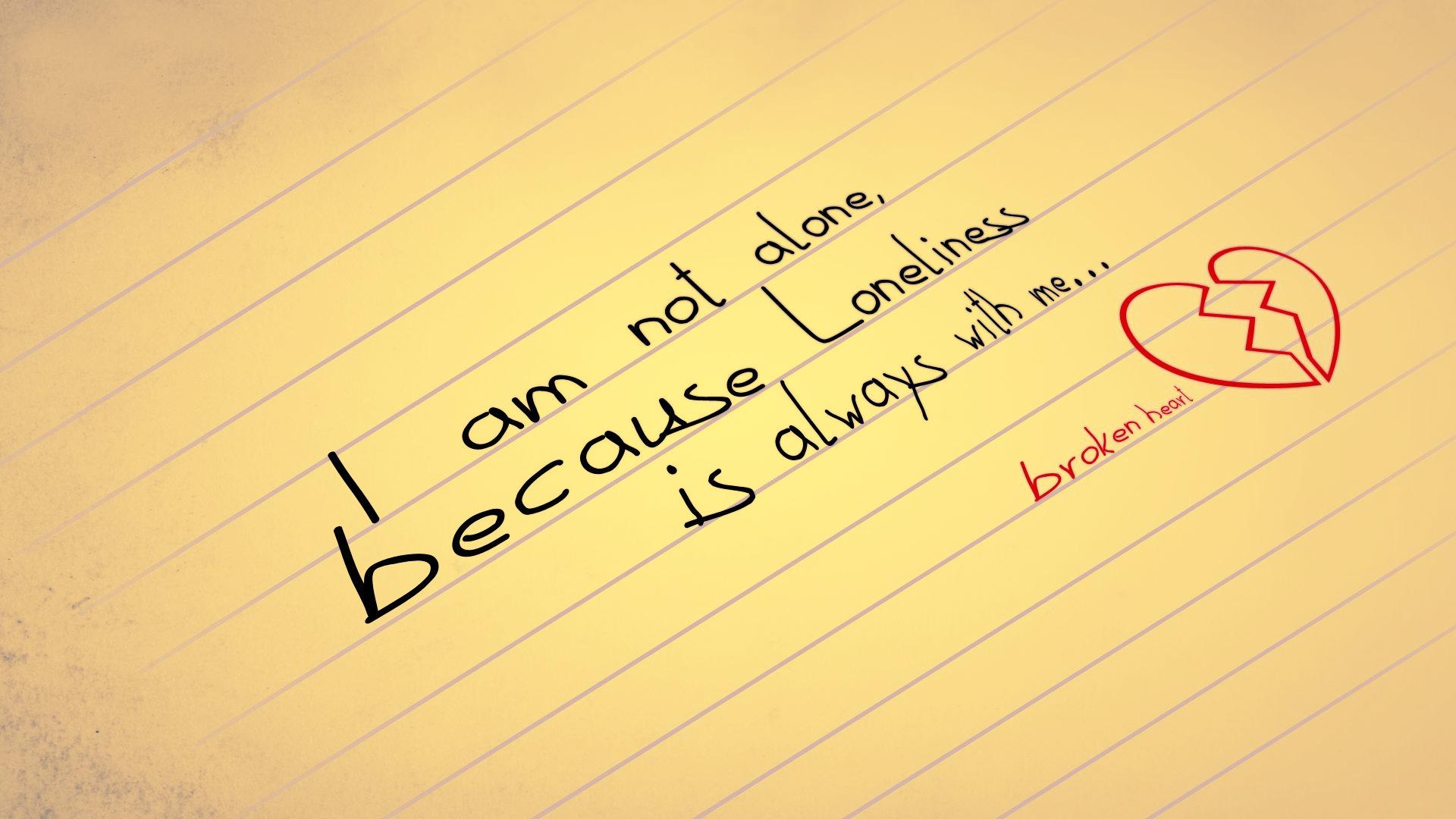 Sad quotes for a broken heart