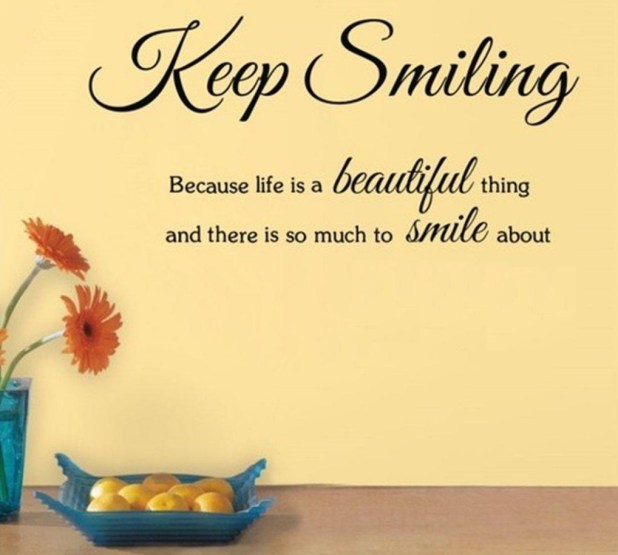Keep Smile Quotes 1
