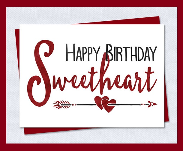 Happy Birthday Sweetheart Images Lovely Birthday Messages