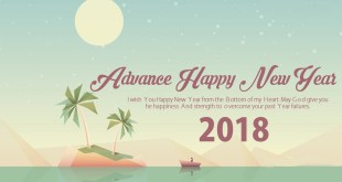 advance happy new year image 2018
