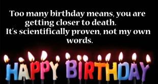 funny happy birthday image