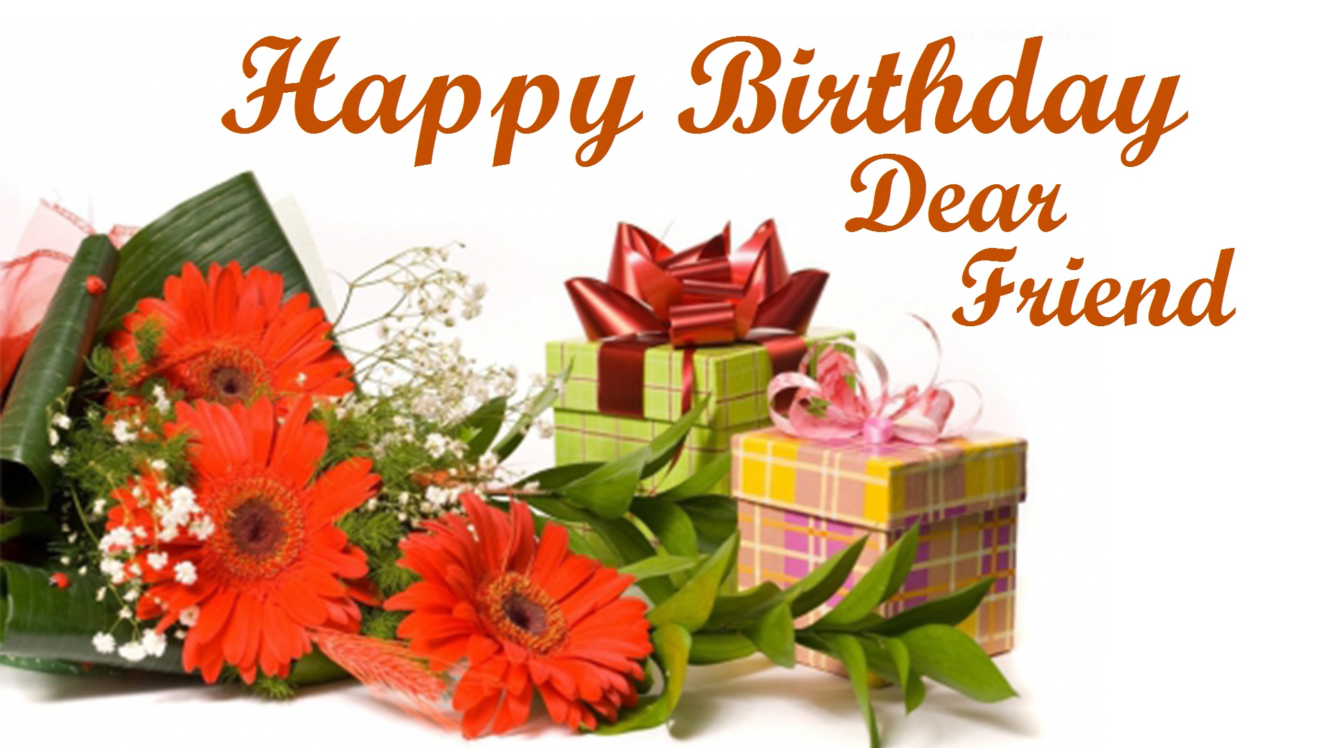 Happy Birthday Dear Friend Images Hd Pictures Free Download