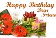 happy birthday dear friend images